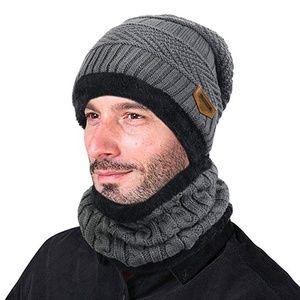 Other - Winter Knit Skull Cap Beanie Hat with Neck Gaiter